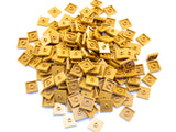 LEGO Medium Dark Flesh Plate Modified 2x2 1 Stud Center Jumper Lot of 100 Parts Pieces 87580
