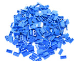LEGO Blue Slope 30 1x2x2/3 Lot of 100 Parts Pieces 85984
