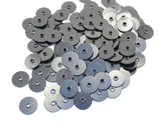 LEGO  Black Technic Disk 3x3 Lot of 100 Parts Pieces 2958