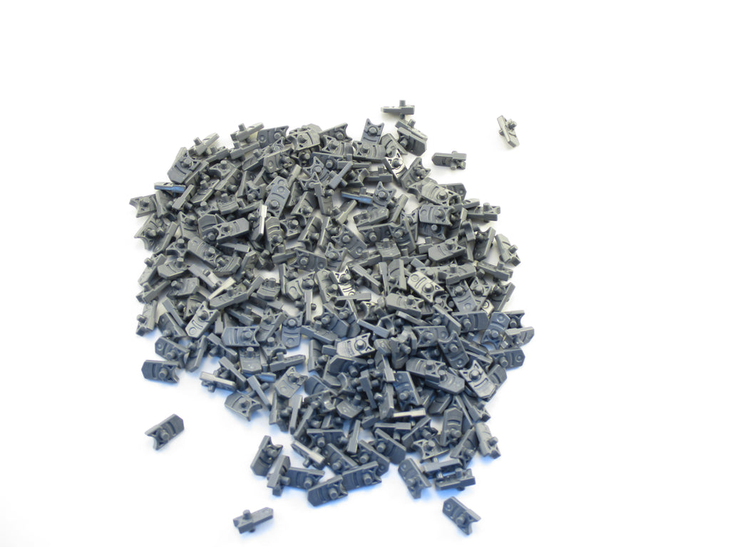 LEGO Dark Bluish Gray Minifig Weapon Trigger for Gun Mini Blaster Lot of 100 Parts Pieces 15392