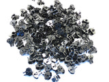 LEGO Black Hinge 1x2 Locking 2 Fingers Towball Socket Lot of 100 Parts Pieces 30396