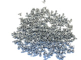 LEGO Dark Bluish Gray Pneumatic Hose + Axle Connector Lot of 100 Parts Pieces 99021