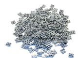 LEGO Dark Bluish Gray Plate Modified 1x2 Handle on Side Lot of 100 Parts Pieces 2540