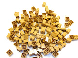 LEGO Medium Dark Flesh Brick 2x2 Lot of 100 Parts Pieces 3003