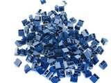LEGO Dark Blue Slope Inverted 45 2x2 Lot of 100 Parts Pieces 3660