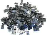 LEGO Black Plate 2x3 Lot of 100 Parts Pieces 3021