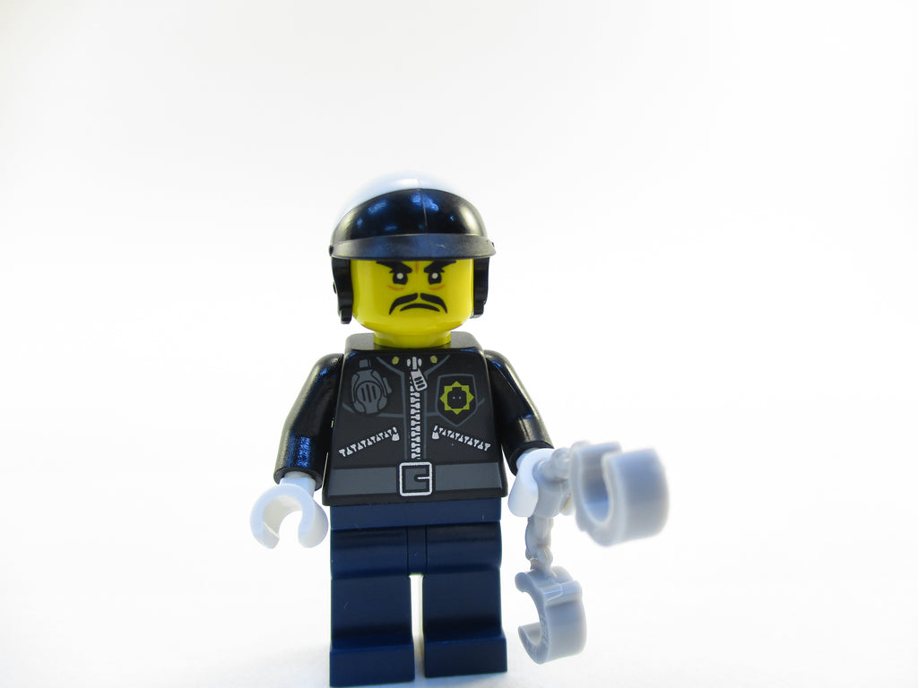 LEGO Ninjago Movie Police Officer Toque Minifigure 70607 Mini Fig Cop