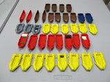 LEGO Boats Canoes Lot of 39 Parts Pieces Used lb