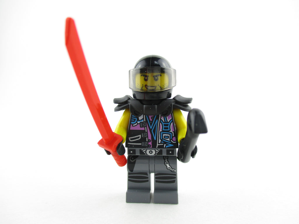 LEGO Ninjago Skip Vicious Minifigure 70640 Sons of Garmadon Mini Fig
