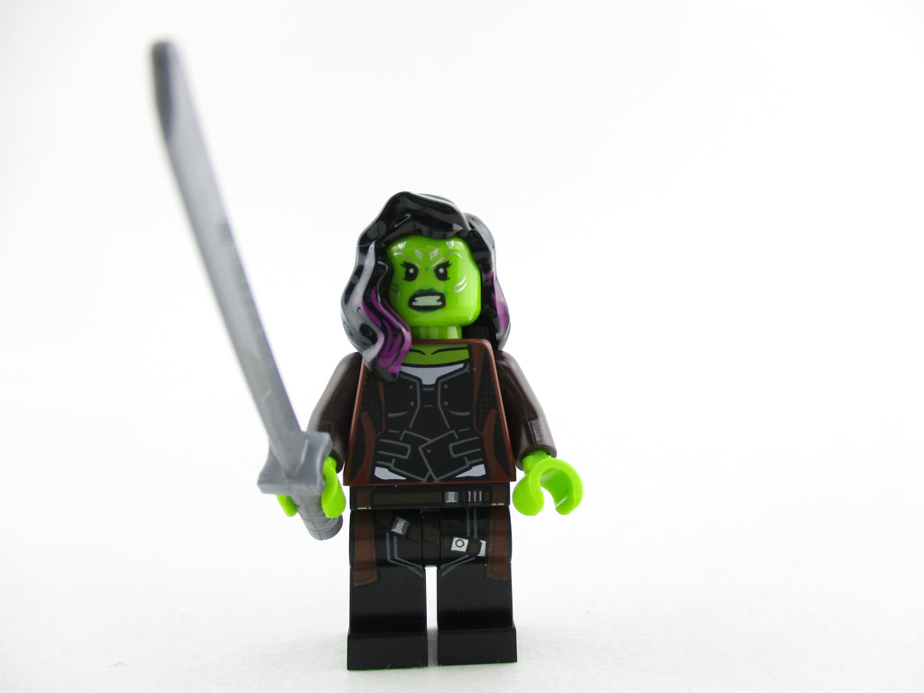 LEGO Infinity War Gamora Minifigure 76107 Mini Fig Avengers