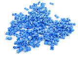LEGO Blue Plate Modified 1x1 with Clip Light Lot of 100 Parts Pieces 4081b