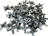 LEGO Black Propeller 4 Blade 5 Diameter Rounded Ends Lot of 50 Parts Pieces 2479