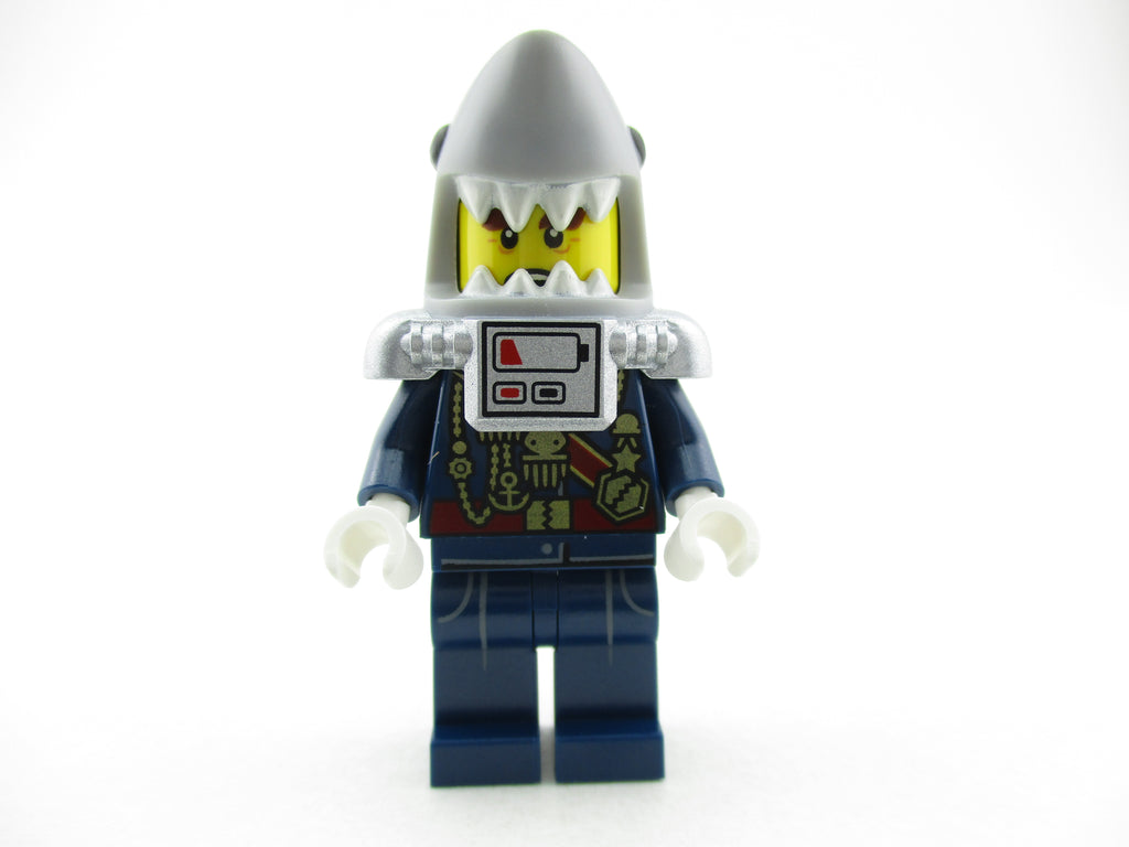 LEGO Ninjago Movie General #1 Minifigure 70631 Mini Fig Shark Army