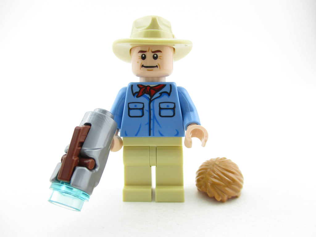 LEGO Jurassic Park Alan Grant Minifigure 75932 Mini Fig Jurassic World