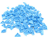 LEGO Dark Azure Wedge Plate 2x2 Left Lot of 100 Parts Pieces 24299
