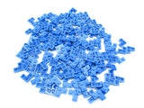 LEGO Blue Plate 2x2 Corner Lot of 100 Parts Pieces 2420