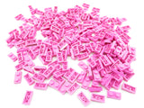 LEGO Dark Pink Plate 1x2 Lot of 100 Parts Pieces 3023
