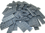 LEGO Dark Bluish Grey Plate 2x6 Lot of 100 Parts Pieces 3795 Gray