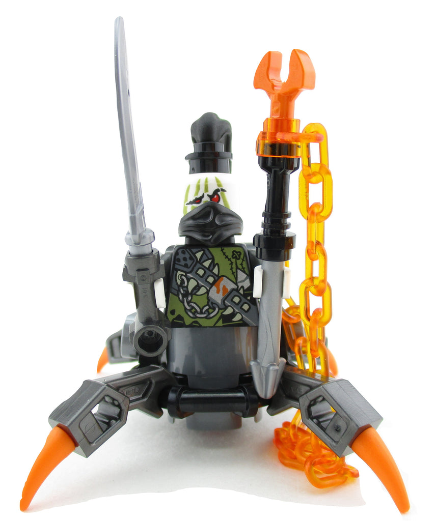 LEGO Ninjago Daddy No Legs Dragon Hunter Minifigure 70652 Hunted Mini Fig