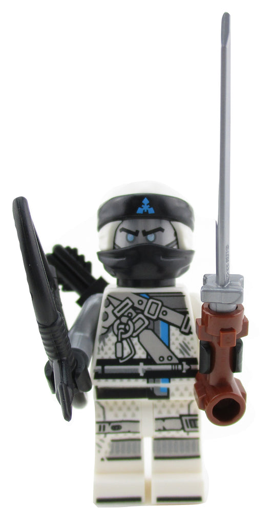 LEGO Ninjago Zane Ninja Minifigure 70652 Hunted Mini Fig