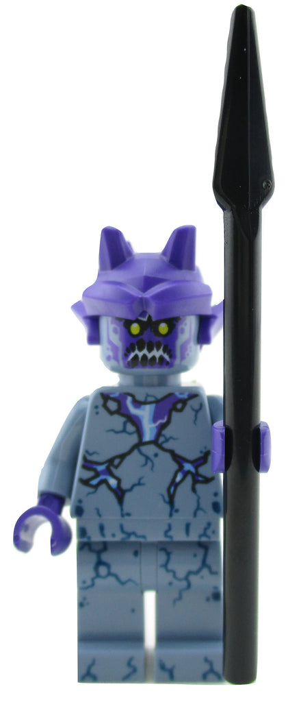 LEGO Nexo Knights Stone Stomper Minifigure 70357 Mini Fig with Spear