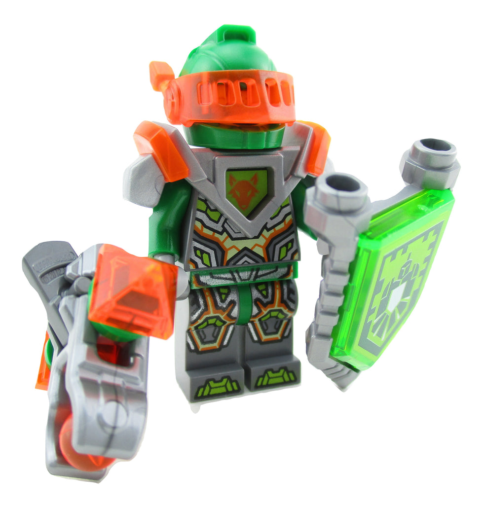 LEGO Nexo Knights Aaron Minifigure 70357 Mini Fig Green