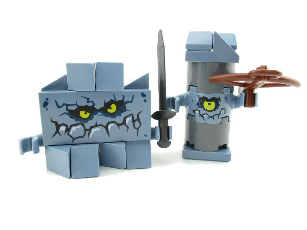 LEGO Nexo Knights Lot of 2 Brickster Minifigure 70357 Mini Fig