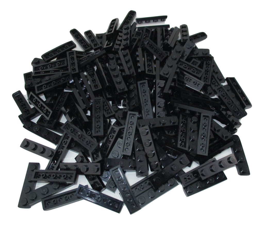 LEGO Black Plate 1x4 Lot of 100 Parts Pieces 3710
