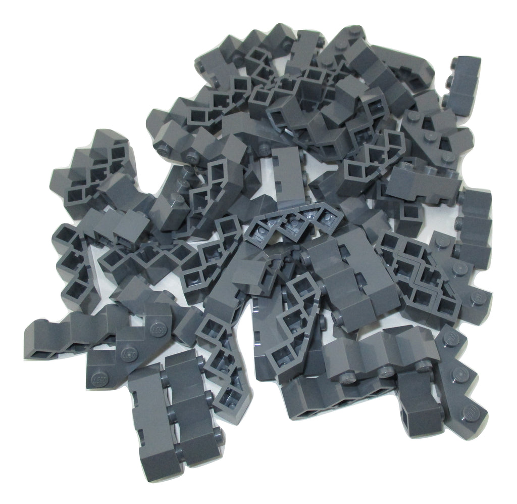 Lego 50 New Dark Bluish Gray Minifigure Weapon Rapid Shooter Six Barrel Pieces