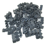 LEGO Dark Bluish Gray Brick Modified Facet 3x3 Lot of 100 Parts Pieces 2462