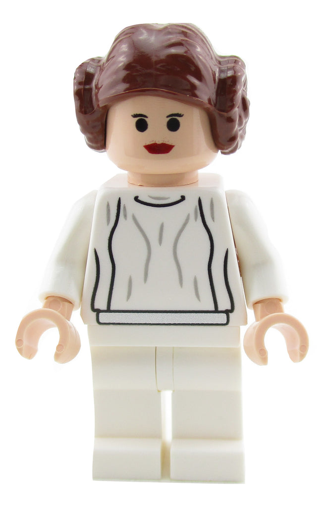LEGO Star Wars Princess Leia White Dress Minifigure 10188 Mini Fig