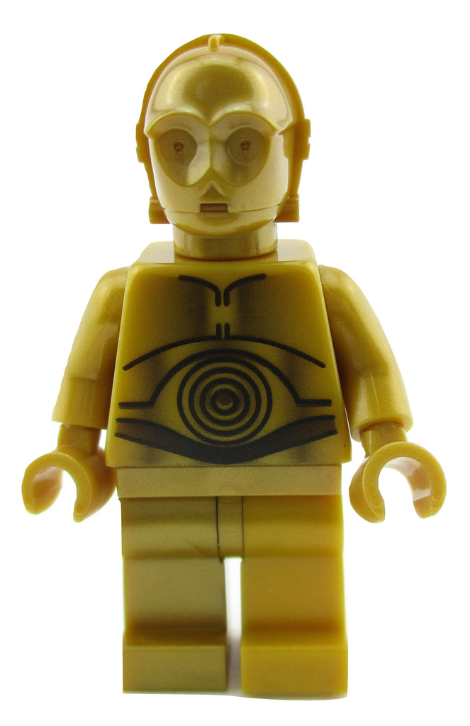 LEGO Star Wars C-3PO Droid Minifigure 10188 Mini Fig C3PO