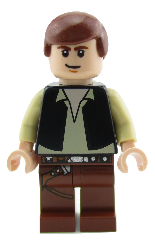 LEGO Star Wars Han Solo Minifigure 10188 Mini Fig