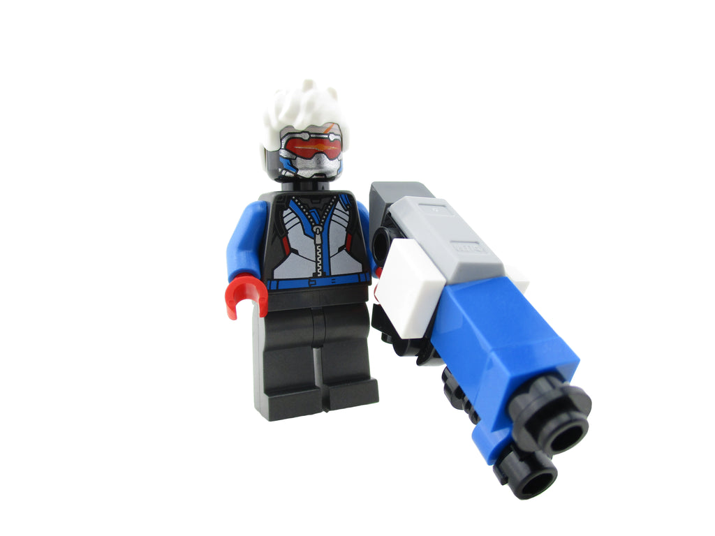 LEGO Overwatch Soldier 76 Minifigure 75972 Mini Fig