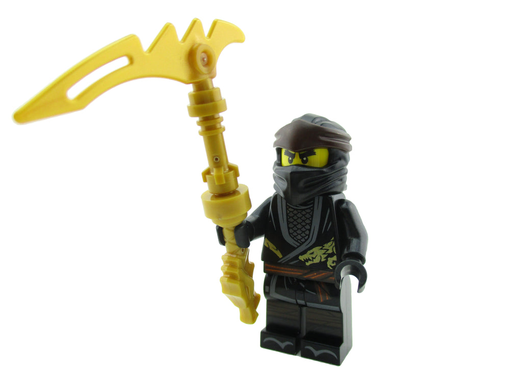LEGO Ninjago Ninja Cole Minifigure 70670 Legacy Mini Fig
