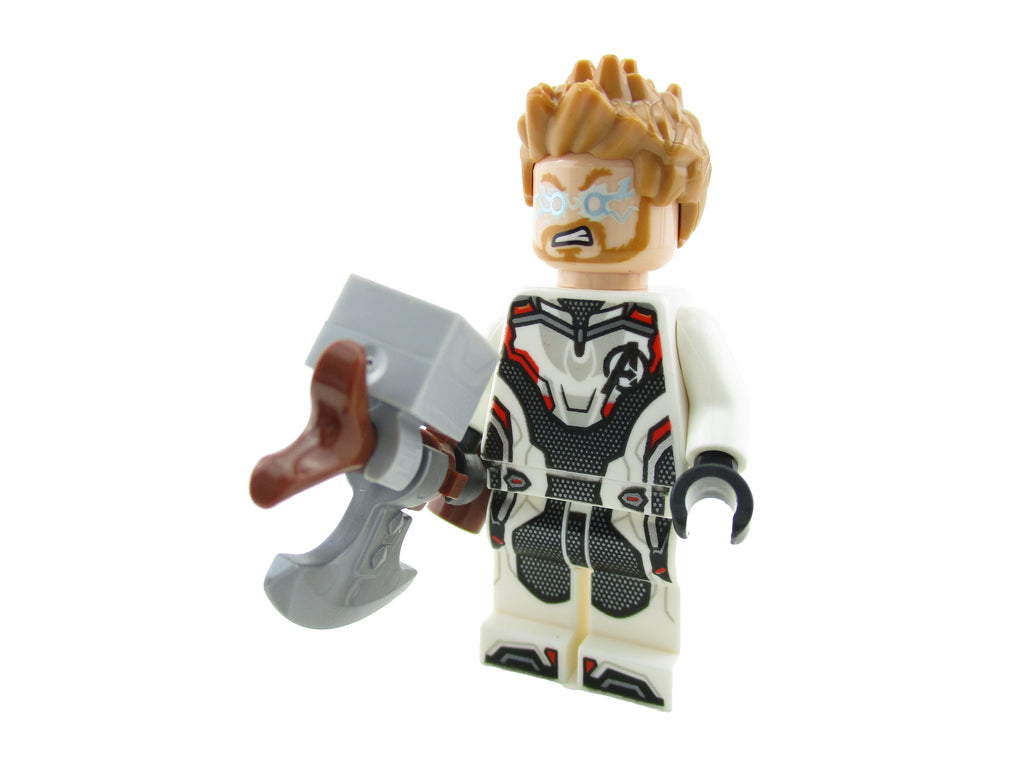 LEGO Avengers Endgame Thor with Stormbreaker Minifigure 76126 Mini Fig