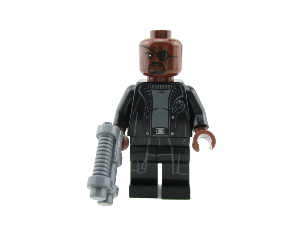 LEGO Spider-Man Far From Home Nick Fury Minifigure 76130 Mini Fig