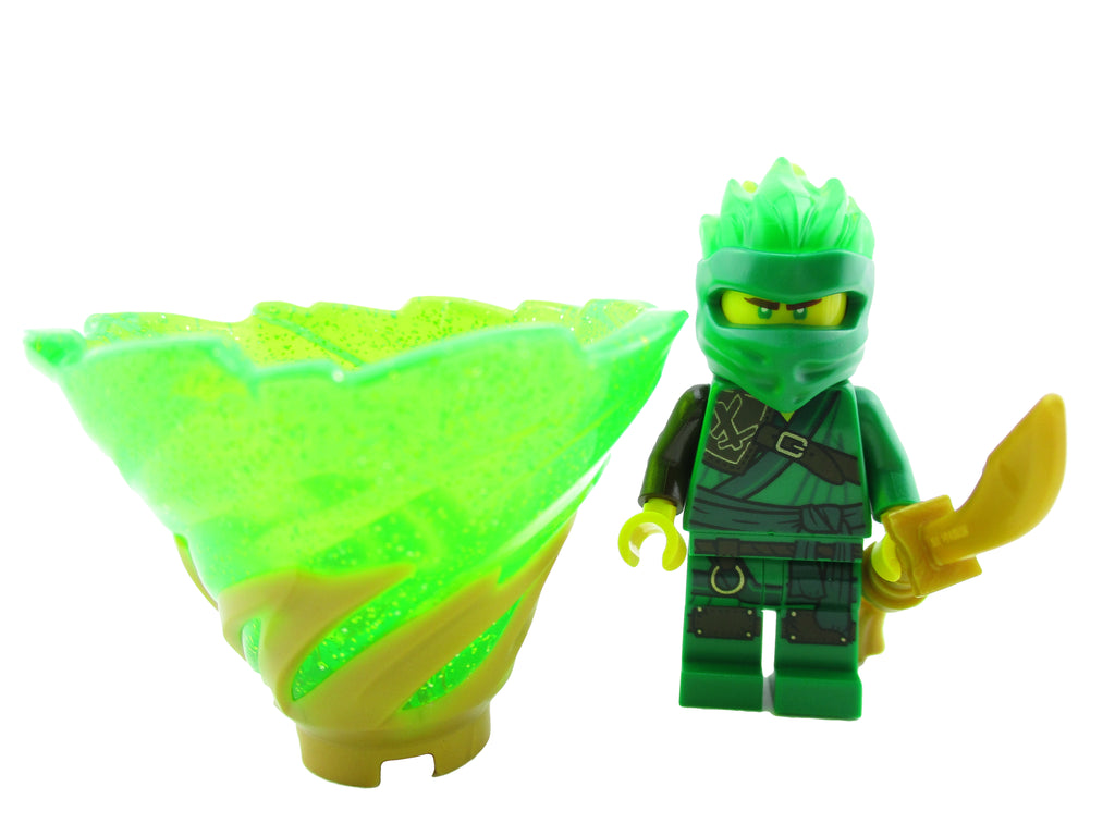 LEGO Ninjago Lloyd FS Minifigure 70678 with Tornado Secrets of Forbidden Spinjitzu Mini Fig