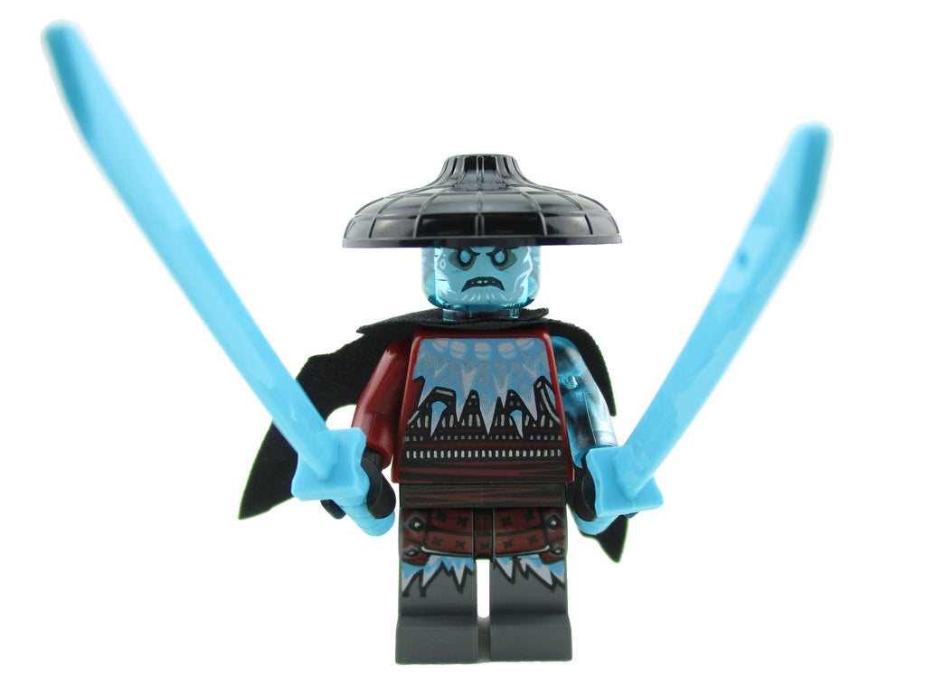 LEGO Ninjago Blizzard Sword Master Minifigure 70678 Secrets of Forbidden Spinjitzu Mini Fig