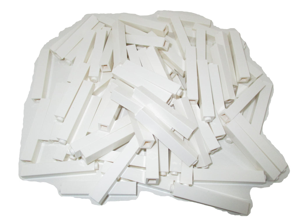 LEGO White Minifig Weapon Spider Web Half-Cone Shaped Lot of 10 Parts Pieces