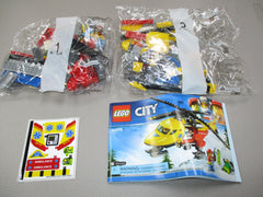 LEGO City Ambulance Helicopter Set 60179 New Sealed NO BOX
