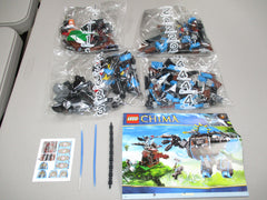 LEGO Legends of Chima Gorzan's Gorilla Striker Set 70008 New Sealed NO BOX
