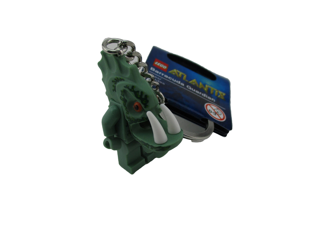 LEGO Atlantis Barracuda Guardian Minifigure Keychain Key Chain