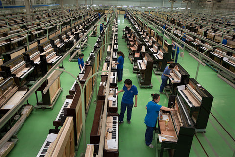 Chinese Piano Factory