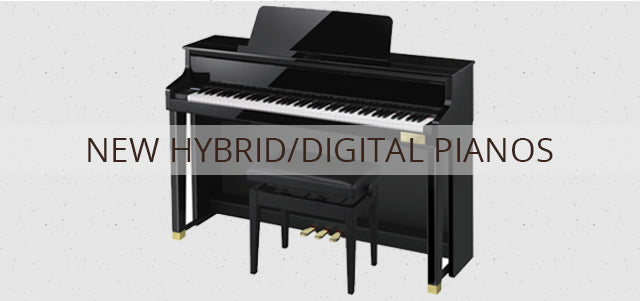 New Hybrid/Digital Pianos