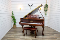 New! Schulze Pollmann Model 122-A Italian Upright Piano