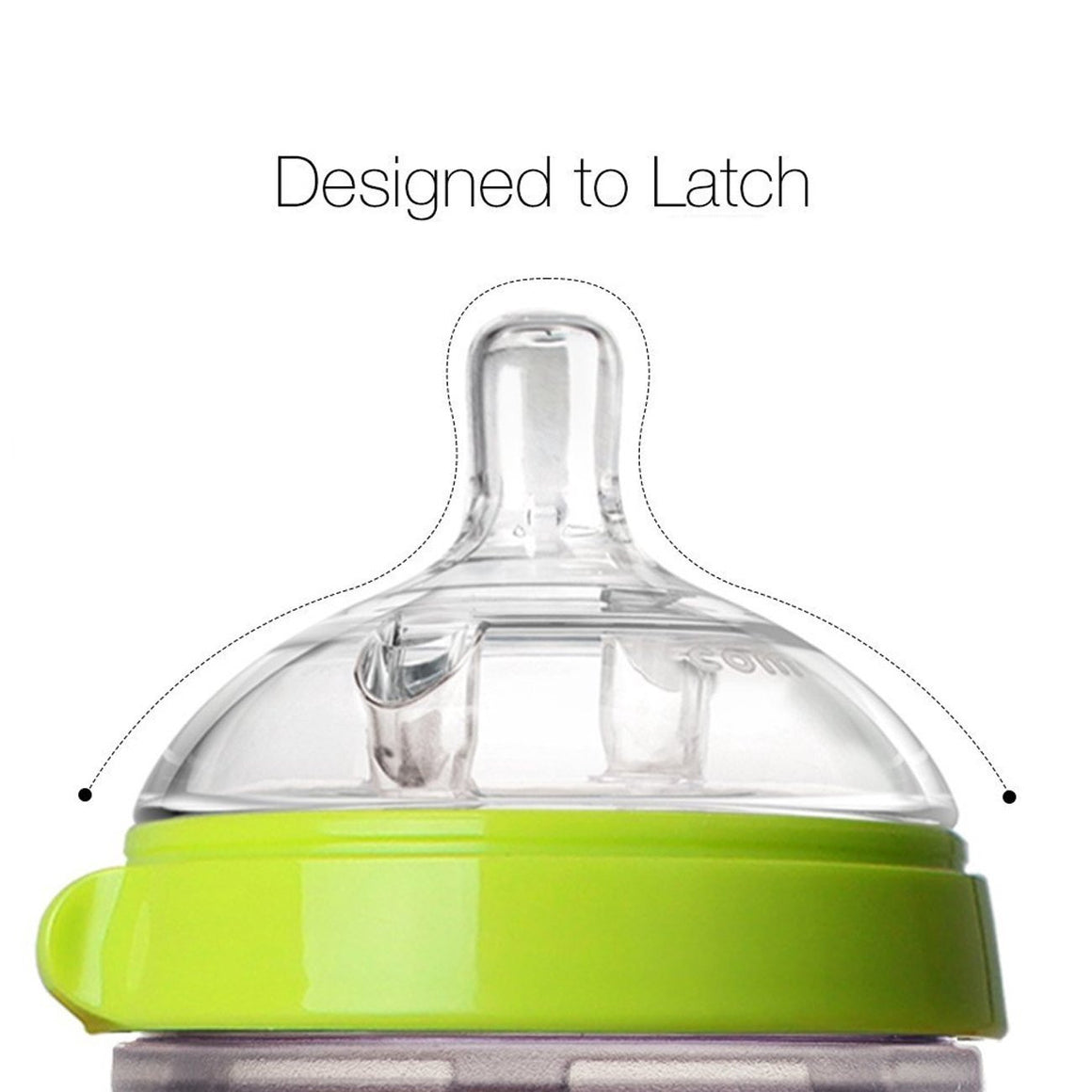 COMOTOMO  Baby Bottle, Green, 5 Ounce, Double Pack - YYZ Distribution