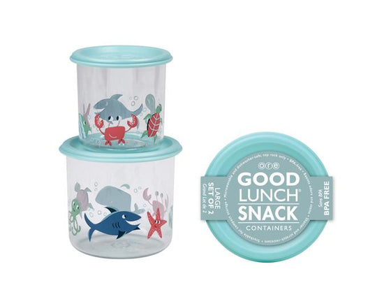 Ocean Good Lunch® Snack Containers Set-of-Two
