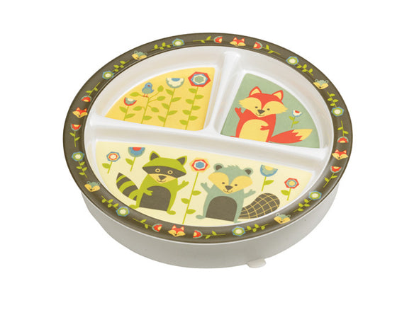 What Did the Fox Eat?® Divided Suction Plate - YYZ Distribution