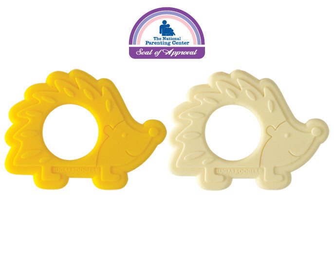 Hedgehog Silicone Teether Set of 2